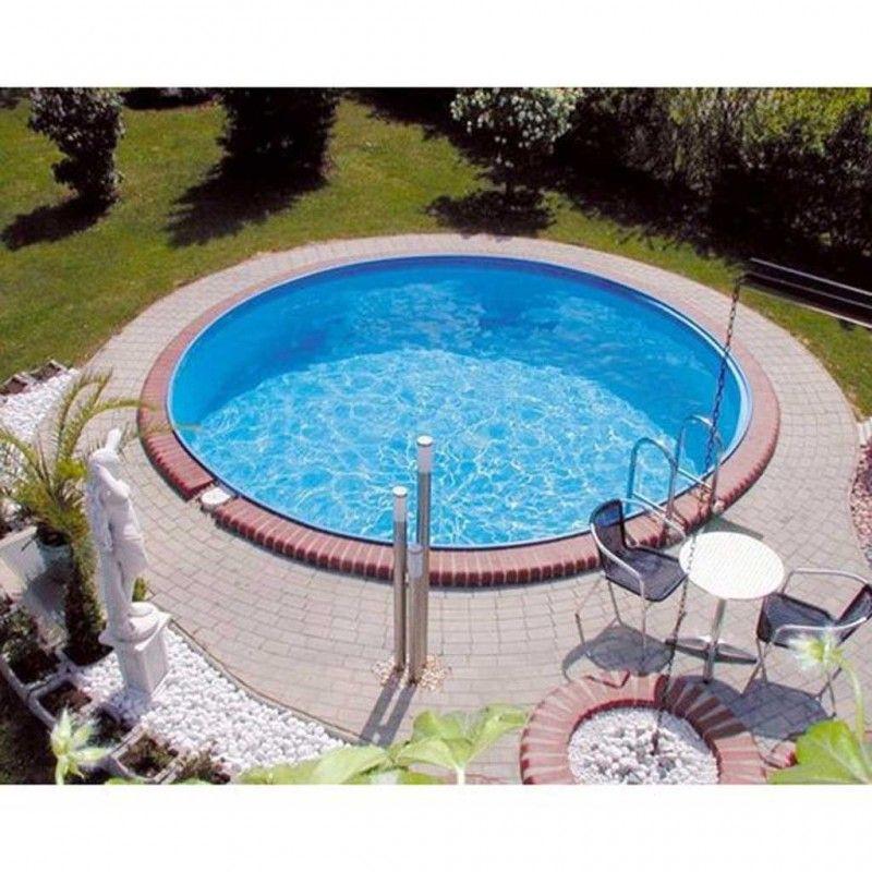 Inbouwzwembad Rond Clever Pool Cm