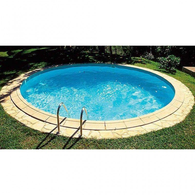 Inbouwzwembad Rond Platinum Pool Cm Diep