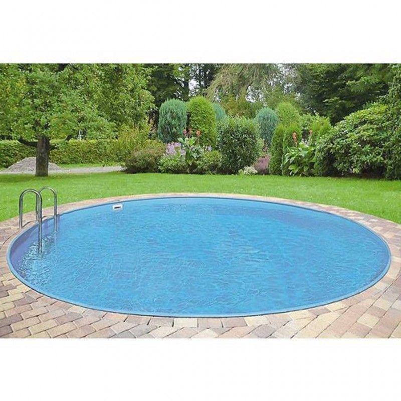 Inbouwzwembad Rond Set Clever Pool Cm