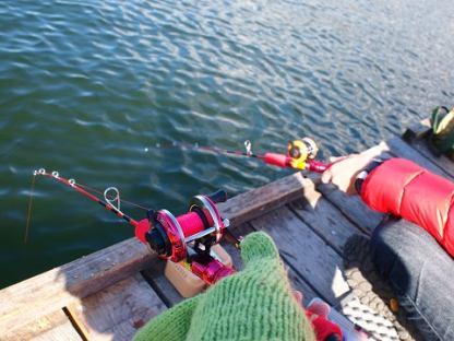 「釣り 女性 服装 冬」の画像検索結果