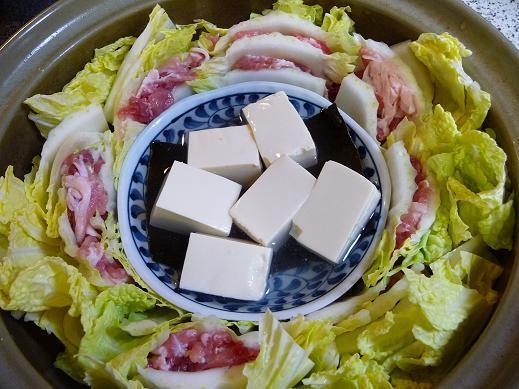 ダイエット鍋!白菜の蒸し鍋と湯豆腐   食費を減らす!うっちーの節約ごはん