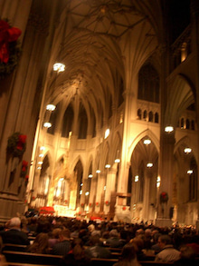 N.Y.に恋して☆-St Patrick's Cathedral