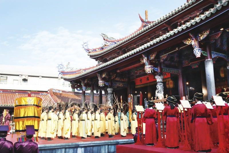 臺北で儒教・道教文化を體験 祭孔大典VS保生文化祭 | 臺灣観光のブログ