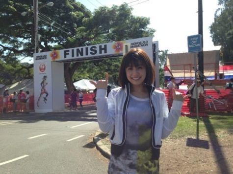 「小林麻耶 ホノルルマラソン」の画像検索結果