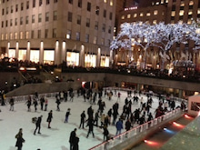 N.Y.に恋して☆-Rockefeller center Christmas 1