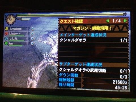 MH4第63回〜全く出ない古龍骨〜 | ~銀火竜の背に乗って~