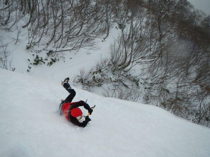 雪山登山のために~雪上訓練に行きました。 | まだ見ぬ世界を目指して
