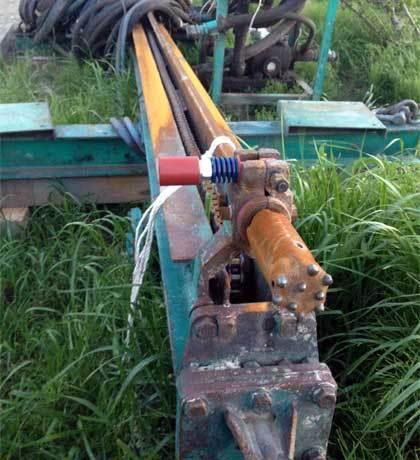 吊り式削孔機2