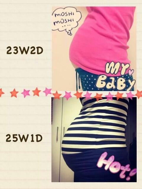 妊娠25週のお腹がデカイ | ★SonLog★