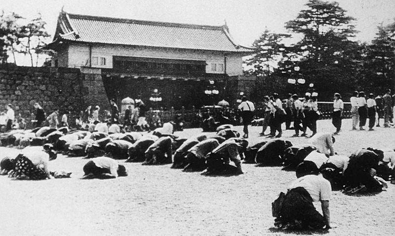 1945年8月15日 天皇裕仁氏が敗戦を國民に知らせた日 | わたしの意見