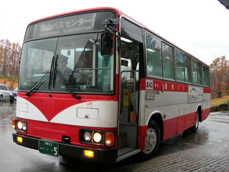 濃飛乗合自動車 22あ5 | わたしの愛人はバスです