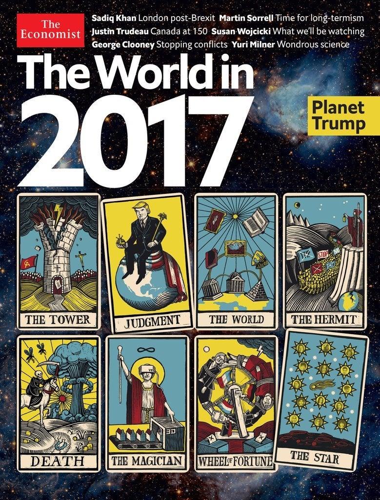 タロットが暗示】経済誌エコノミストの表紙が示唆する【2017年予言 ...