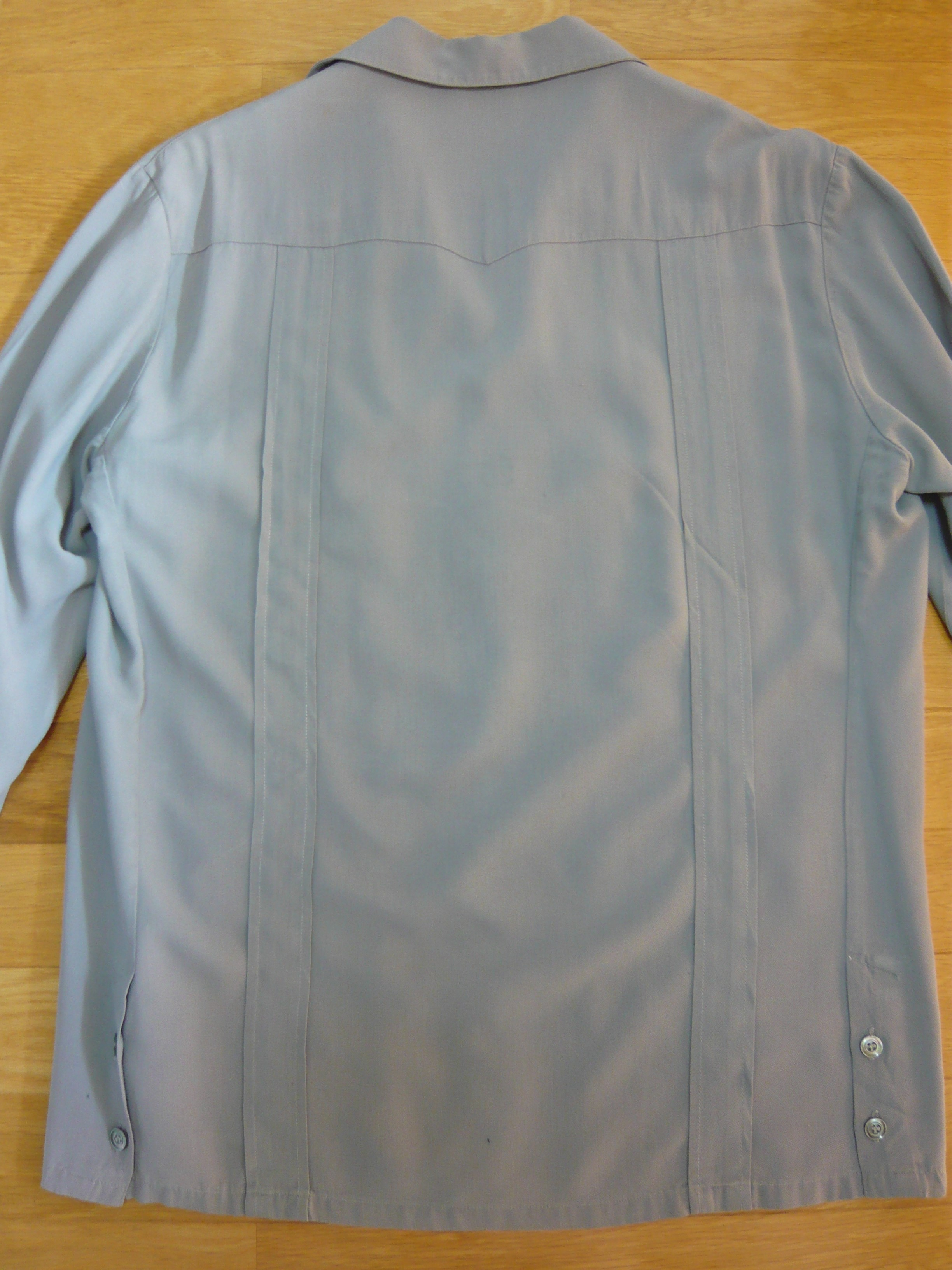 For Sale 50's Gray Rayon Hollywood Jacket | Ol'days Style Vintage Diary