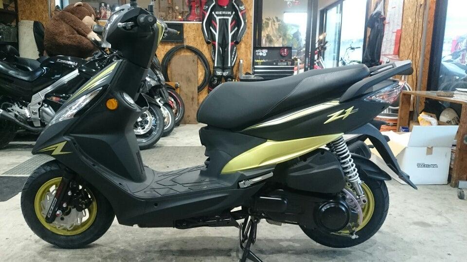 SYM Z1 125!乗りやすく速い!さらに信頼性が高い☆   バイクとあそぼ♪トレジャー☆