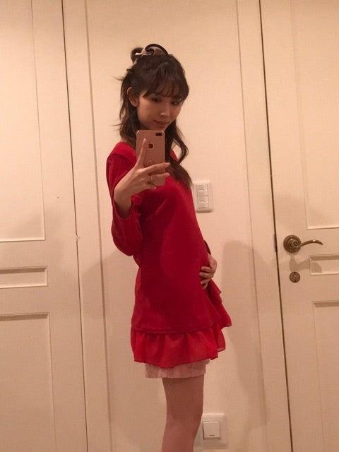 妊娠15週のお腹 | 菊池瑠々オフィシャルブログ「MUSCLE育児DAYS」Powered by Ameba
