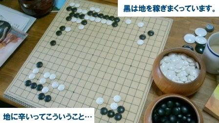 地に辛い 【棋譜並べ311局】 | りくのらひねもす囲碁ブログ