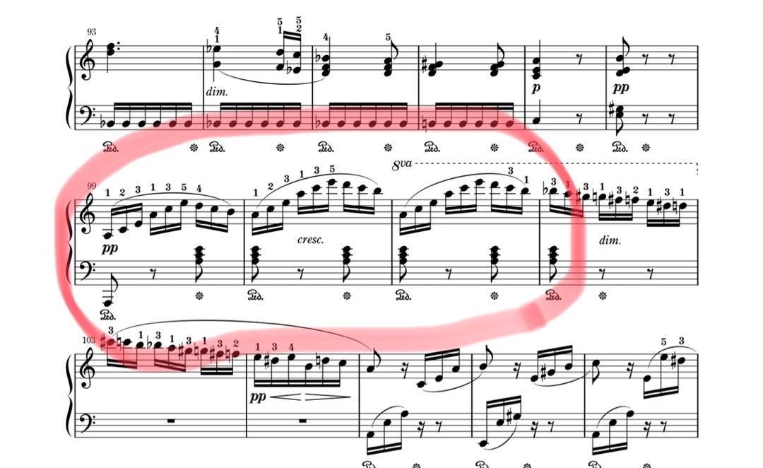 「エリーゼのために」の分散和音、どうしたらスラスラ弾ける?   初心者のための譜読みピアノレッスン