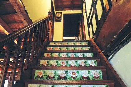 百年古民家の花タイルの世界へ*臺灣花磚博物館 | 臺南もよう * 巖田優子