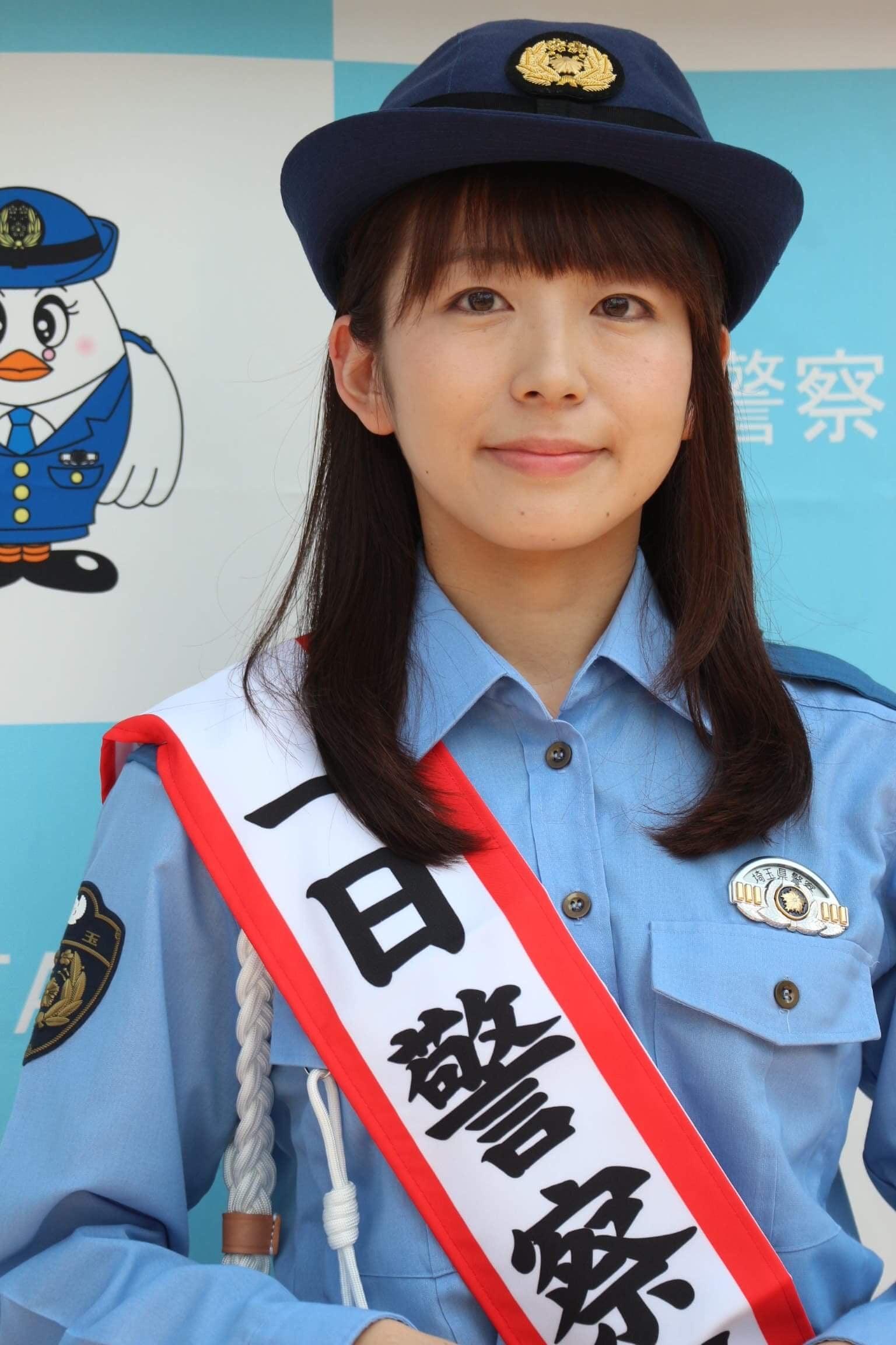 #一日警察署長 を務めてまいりました | はたゆりこオフィシャルブログ『はたからみれば。』