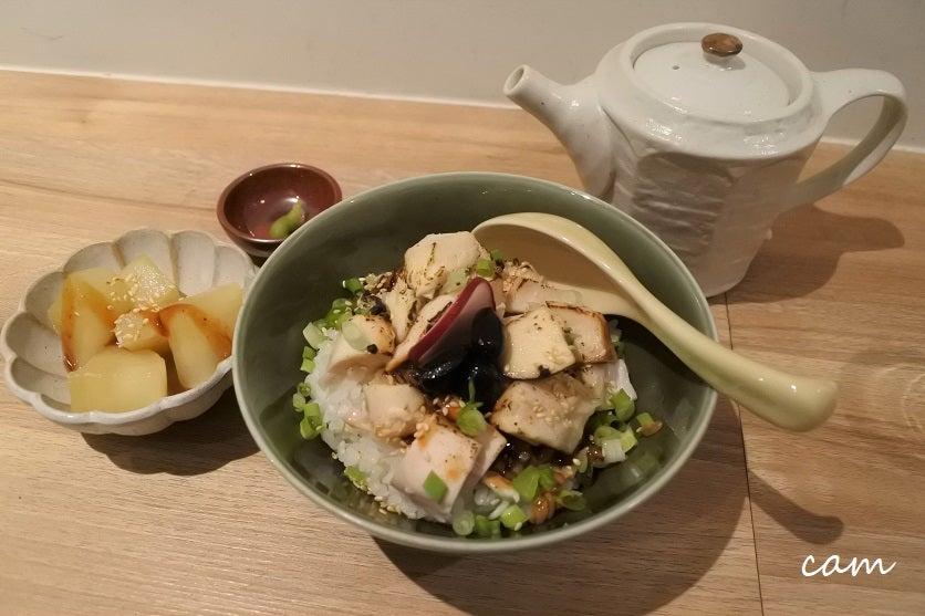 阿里山茶がふわりと香る濃厚チキンスープ茶漬け&ラーメン「麵屋山茶」@迪化街 | くいしんぼうCAMの ...