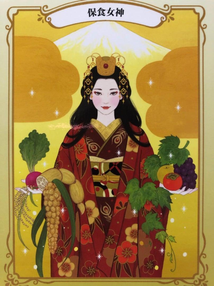 日本の女神カード   happybluebird