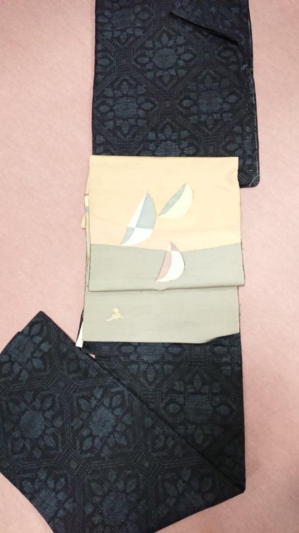 上島洋山の能洲紬 | きものグレープのブログ