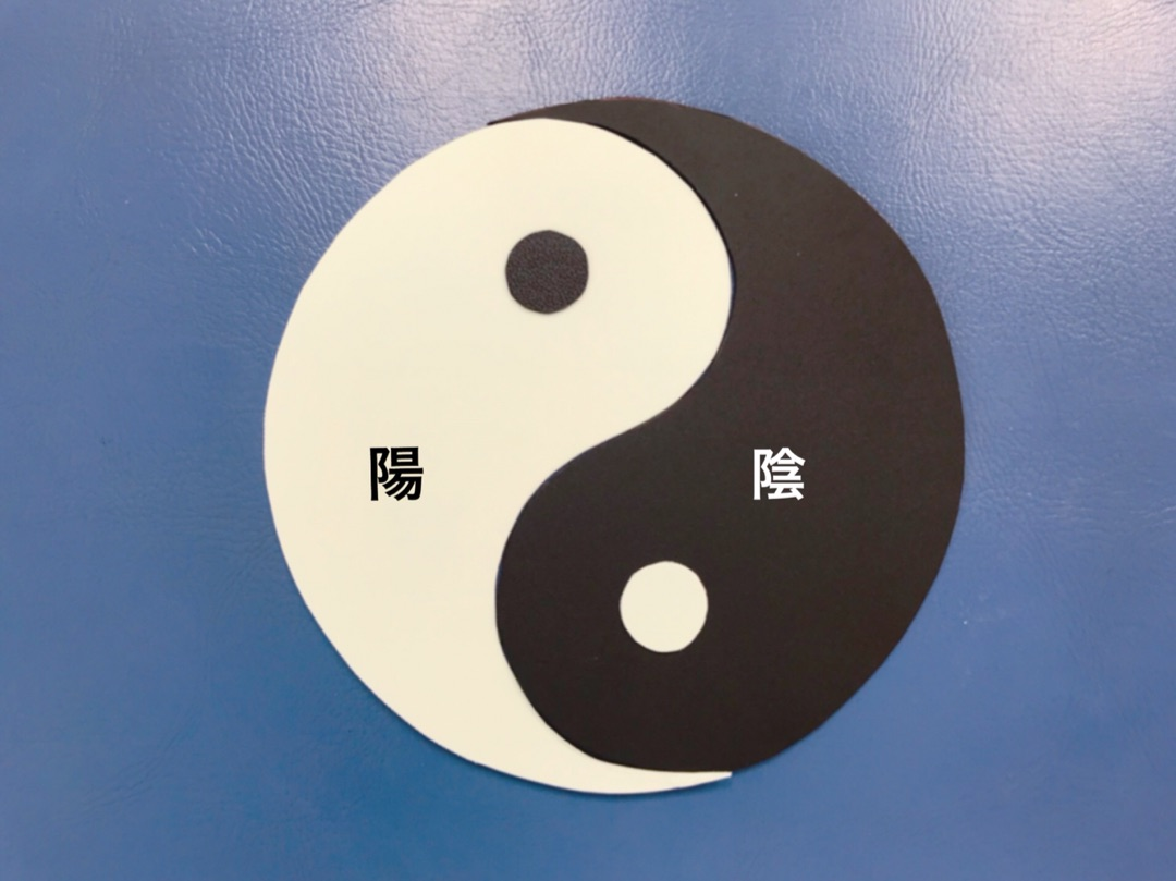 陰陽太極図〜萬物は2つのものに分けられます〜   Hanalima 〜ハンドメイド教材の部屋〜