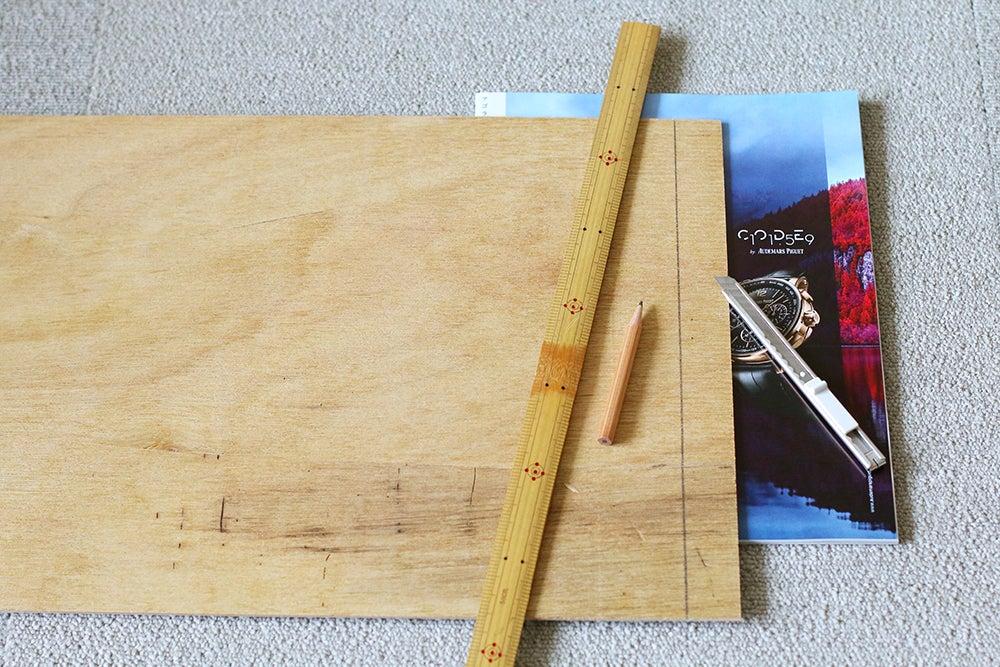 ホームセンターで買えるベニア板でつっぱり棚をバージョンアップ♪ | 暮らしの小さなアイデア帳