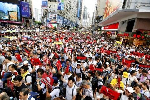 香港デモ | 深セン・香港通訳,仕入代行,日中貿易の事なら