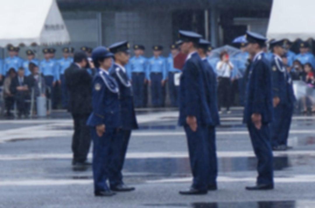 警視庁警察學校卒業式!   とり鉄ライダーのブログ