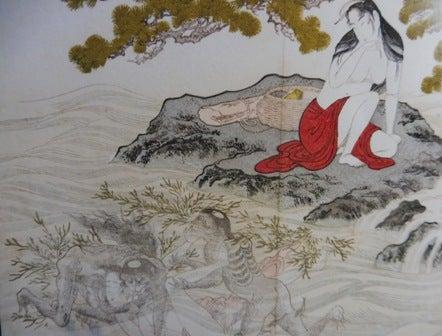 浮世絵師(歌麿、北斎、河鍋暁斎「地獄太夫」)と妖怪ー男と女の物語(25) | 今日の景色