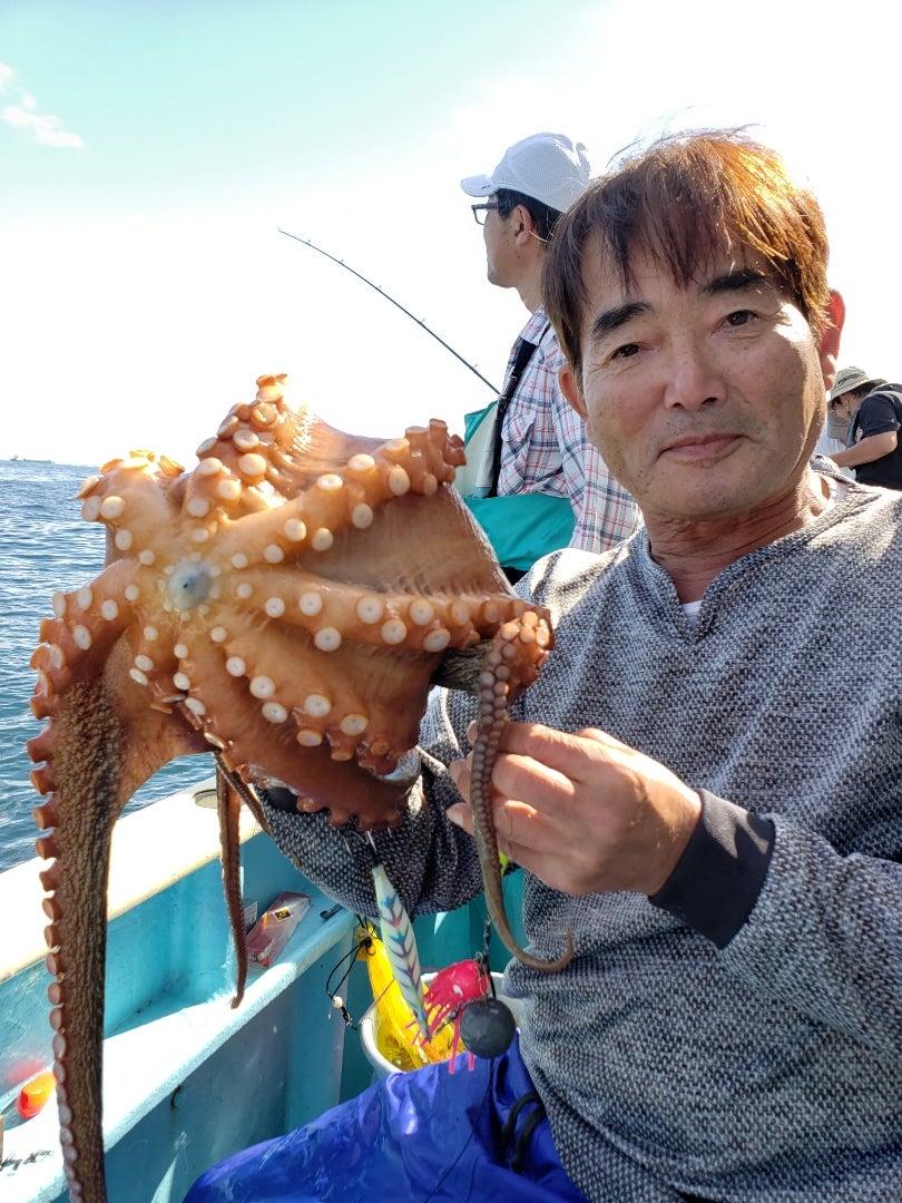 10/26の釣果 (11/4はマダコに変更) | 「金沢八景 小柴丸」の東京灣釣り速報