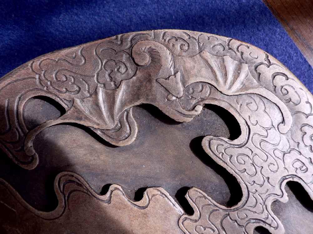 紅糸石硯 と 土瑪瑙石硯 1   kanjakuanのブログ