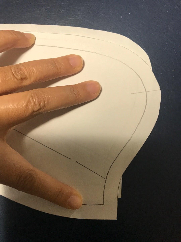 コートの襟のつけかた | sakusaku sewing ~橫浜・磯子の初心者向け洋裁教室