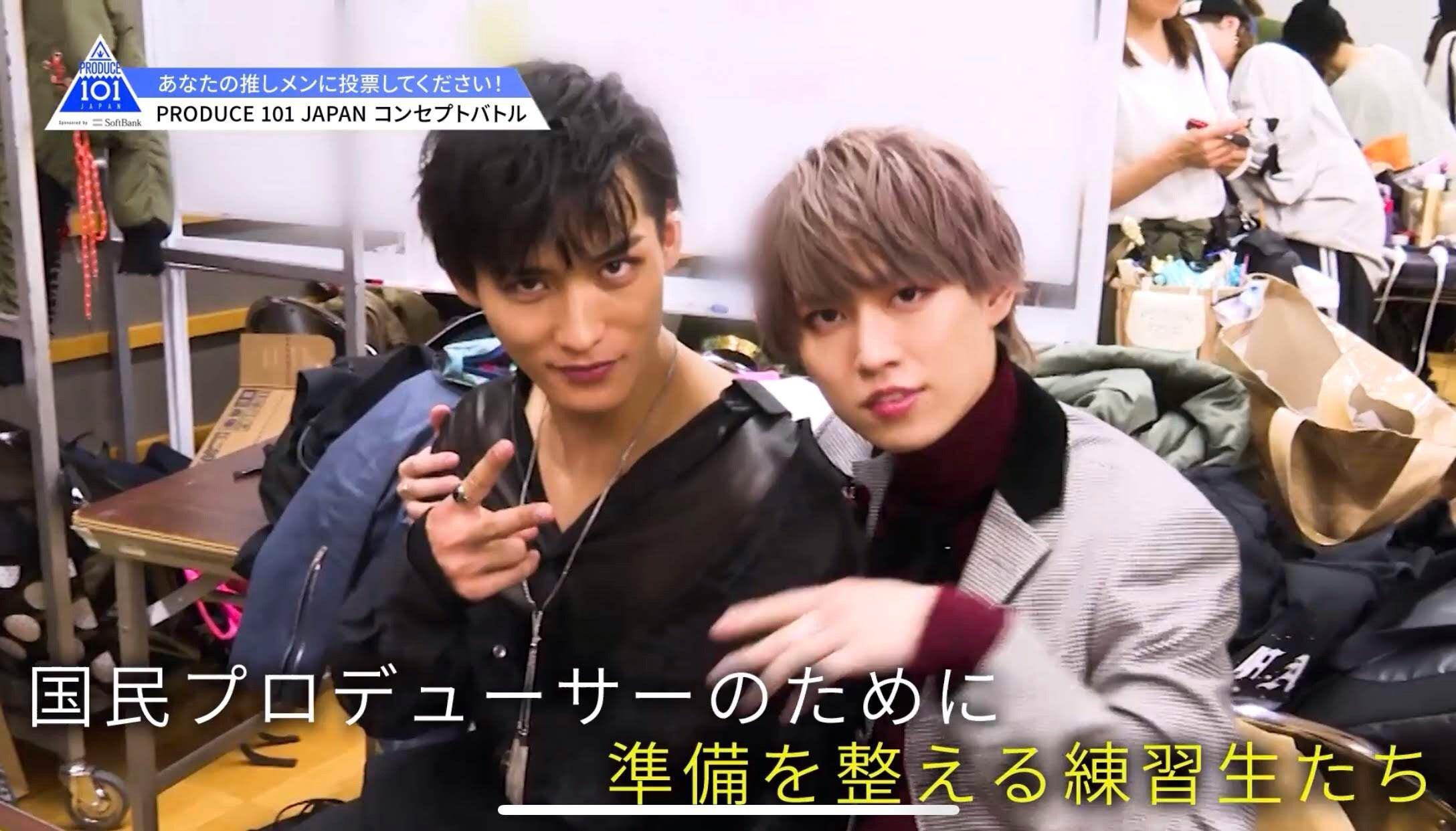 Produce 101 Japan 第9回目 コンセプトバトル 順位変動