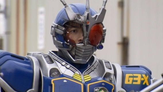 仮面ライダーG3-X(ユウスケVer.) マスク割れ   聖 神吾 hijiri-shingoのブログ