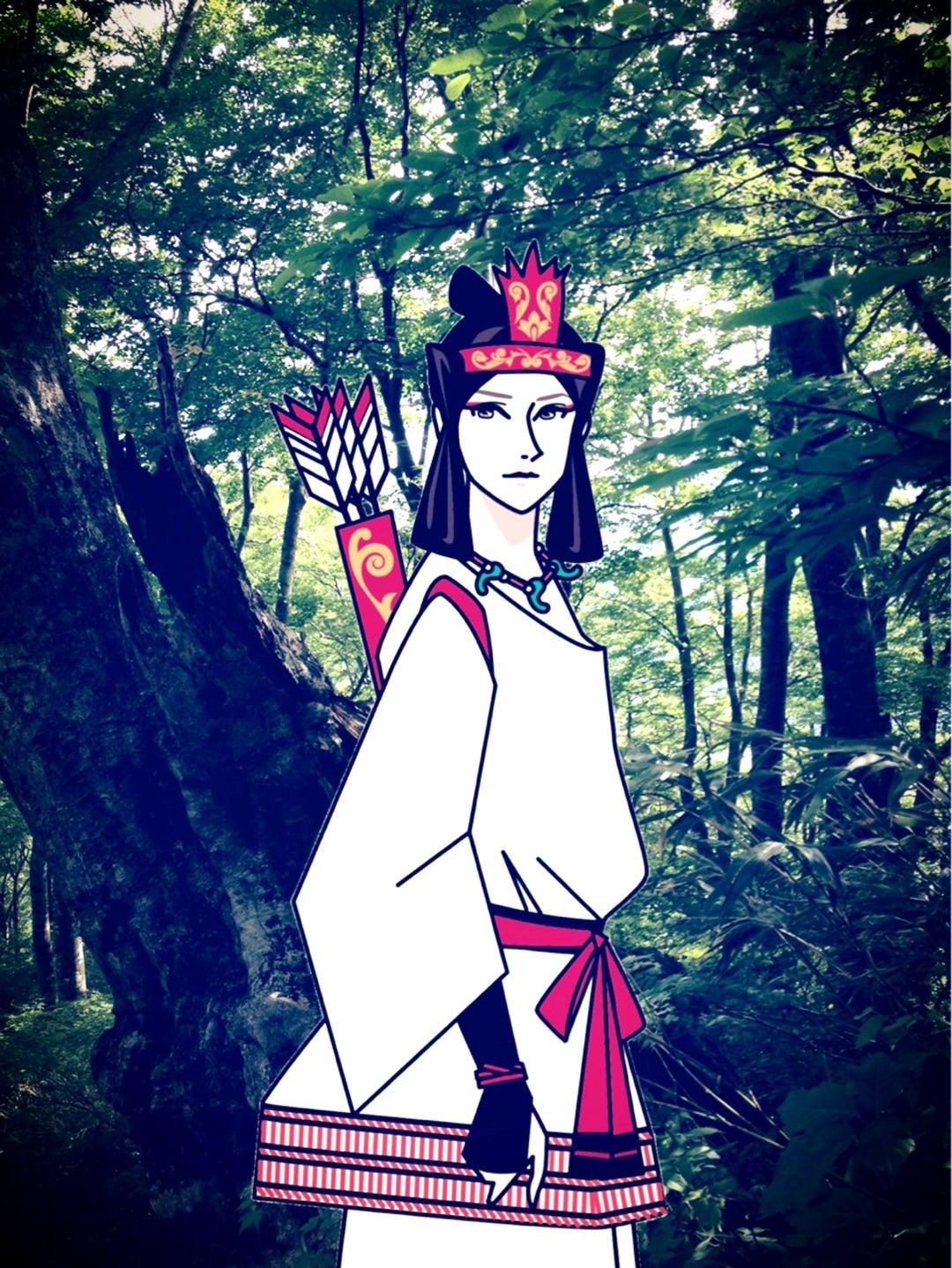 連載最終回・⛩【菊と稲荷】六甲の神功皇后・7:神功皇后。 | 神様バカ。神様モテ。