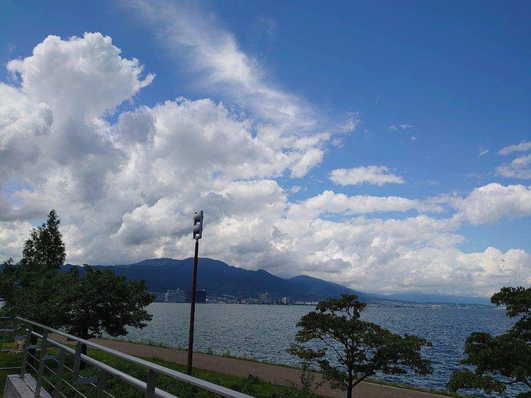 びわ湖ホールから見た琵琶湖   おちくぼひめのブログ