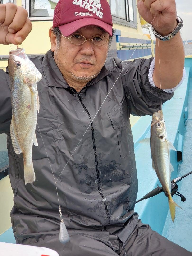 イシモチ | 「金沢八景 小柴丸」の東京灣釣り速報
