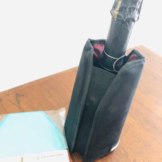 使用時のワインクーラースリーブ