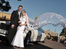 Las Vegas Wedding Chapel Featuring Wedding Fashion