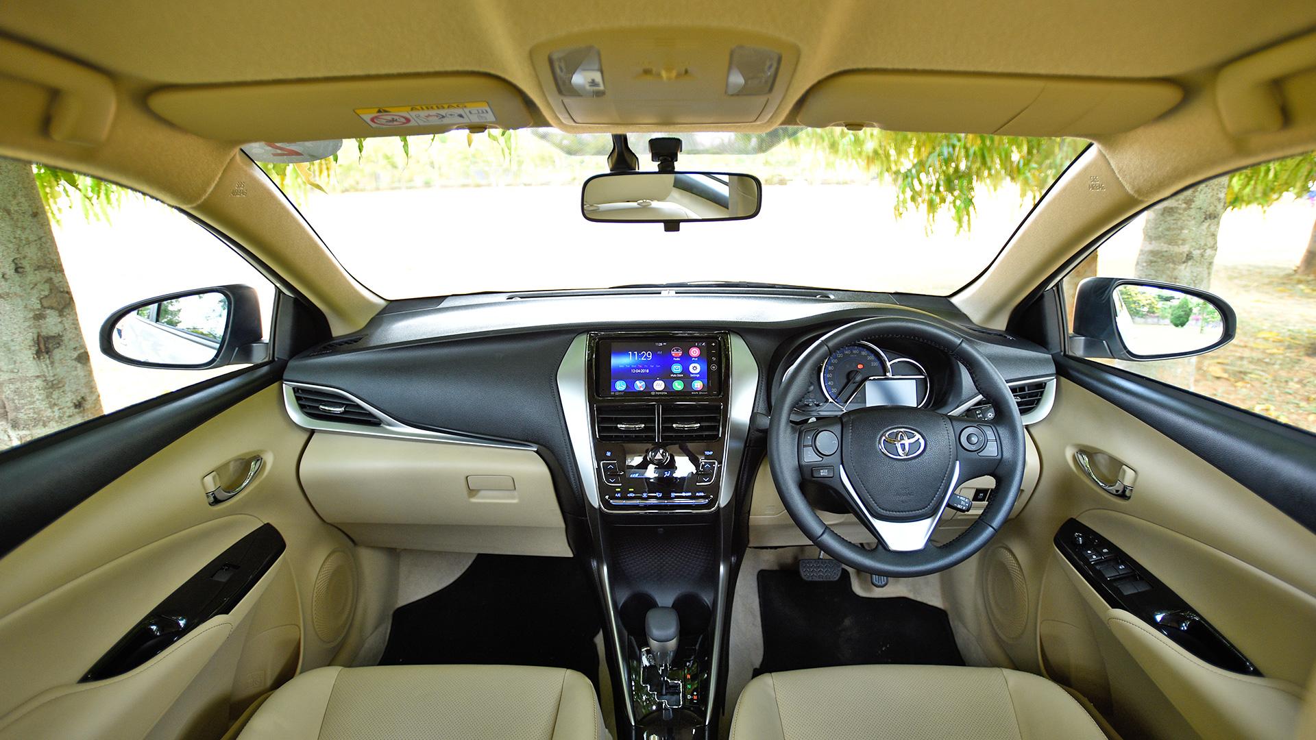 toyota yaris trd sportivo cvt 2018 new kijang innova spesifikasi vx interior car photos overdrive