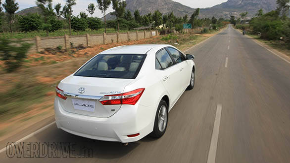new corolla altis launch date in india all camry 2018 interior 2014 toyota first drive overdrive 17