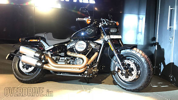 2018 Harley Davidson Fat Bob Launched In India Image Gallery