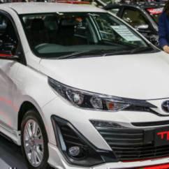 Toyota Yaris Trd Exhaust All New Camry 2019 Harga Shown At 2018 Bangkok Motor Show Overdrive