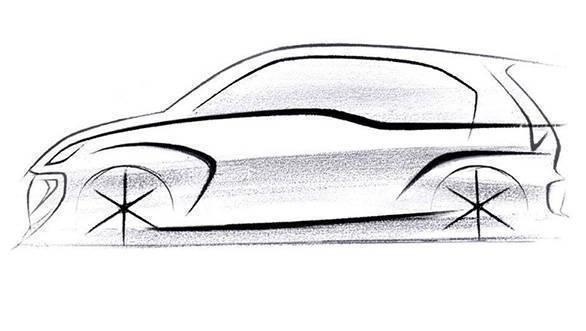 Next-gen Hyundai Santro design sketch unveiled, to launch