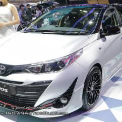 Toyota Yaris Trd Sportivo Manual Price Sportier Shown At Giias 2018 Overdrive