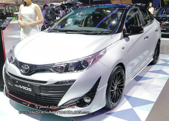 new yaris trd toyota 2014 dijual sportier sportivo shown at giias 2018 overdrive