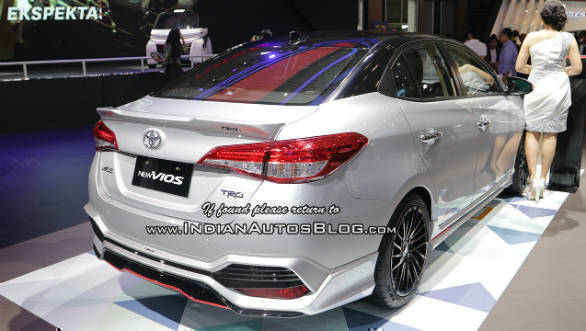 new yaris trd grand avanza 2018 tipe g sportier toyota sportivo shown at giias overdrive