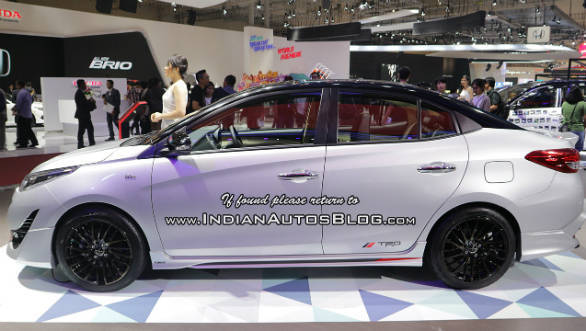 toyota yaris trd sportivo specs all new kijang innova g 2017 sportier shown at giias 2018 overdrive
